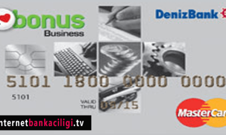 Photo of DenizBank Bonus Business MasterCard Kredi Kartı