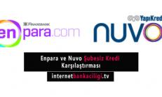 Yapı Kredi NUVO ve QNB Finansbank Enpara Şubesiz Kredi Karşılaştırması