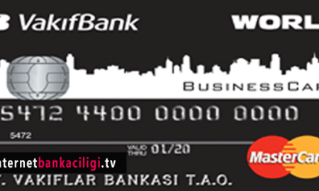Photo of Vakıfbank World Business Kredi Kartı