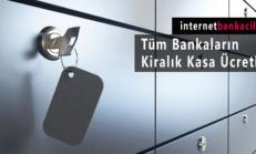 Tüm Bankaların Kiralık Kasa Ücretleri Güncel Liste 2017