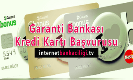 Photo of Garanti Bankası Kredi Kartı Başvurusu