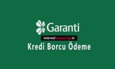 Garanti İnternet Bankacılığı Kredi Ödeme