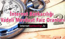 İnternet Bankacılığı Vadeli Mevduat Faiz Oranları