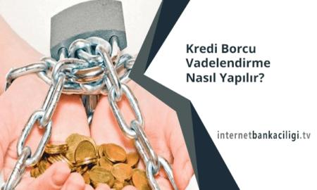 Photo of Kredi Borcu Vadelendirme Nasıl Yapılır?