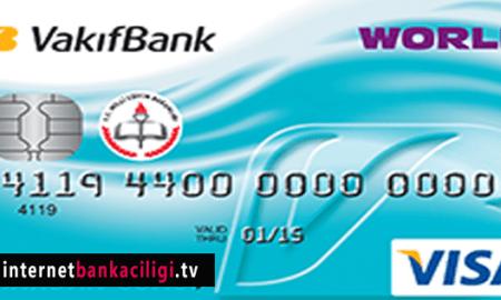 Photo of Vakıfbank World Öğretmenim Kredi Kartı