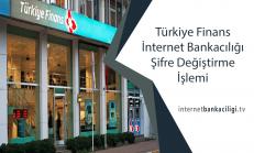 Türkiye Finans İnternet Bankacılığı Şifre Değiştirme İşlemi