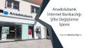 Anadolubank İnternet Bankacılığı Hemen Şifre Değiştirme