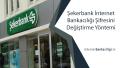 Şekerbank İnternet Bankacılığı Şifresini Değiştirme Yöntemi