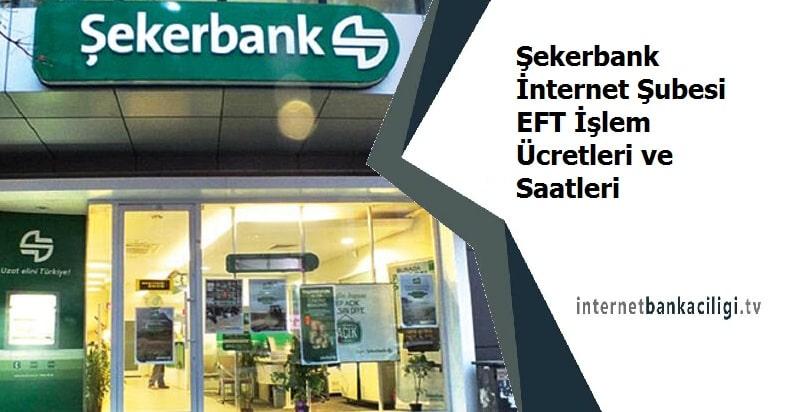 Photo of Şekerbank İnternet Şubesi EFT İşlem Ücretleri ve Saatleri