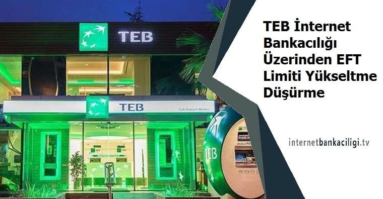 Photo of TEB İnternet Bankacılığı Üzerinden EFT Limiti Yükseltme Düşürme