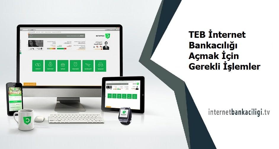 Photo of TEB İnternet Bankacılığı Açmak İçin Gerekli İşlemler