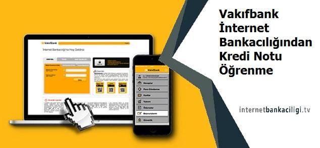 Photo of Vakıfbank İnternet Bankacılığından Kredi Notu Öğrenme