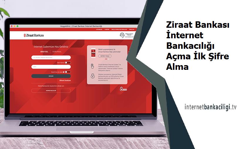 Photo of Ziraat Bankası İnternet Bankacılığı Açma İlk Şifre Alma