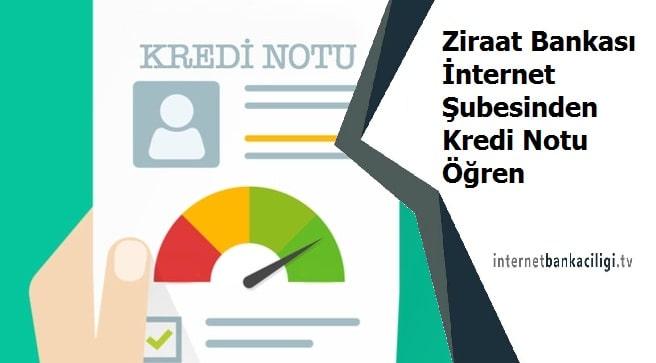 Photo of Ziraat Bankası İnternet Şubesinden Kredi Notu Öğren